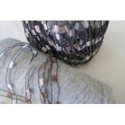 Écharpe modèle automne gris