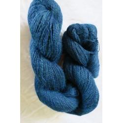 Écheveau alpaga bleu profond