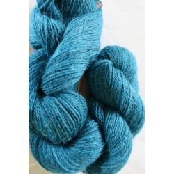 Écheveau alpaga bleu