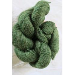 Écheveau alpaga vert