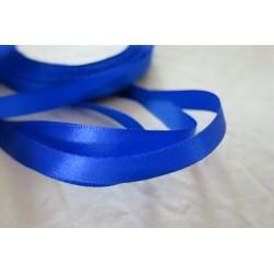 Ruban satin bleu 10mm