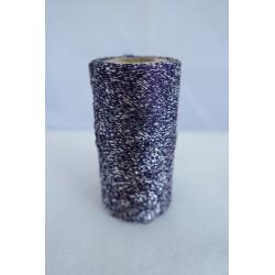 Fil métallisé violet