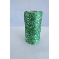 Fil métallisé vert