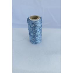 Fil métallisé bleu clair