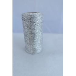 Fil métallisé argenté