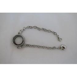 Bracelet insert dentelle...